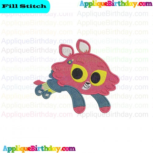 Octopus The Octonauts Embroidery Design 3 Sizes 10 Formats Instant Download