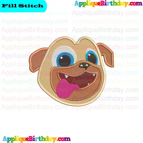 Instant Download 10 Formats Rolly And Bingo Puppy Dog Pals Embroidery Design 3 Sizes